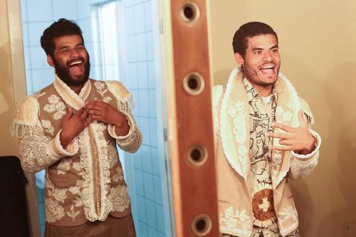 Achiles Neto e Marcus Marinho - Foto - Arthur Garcia