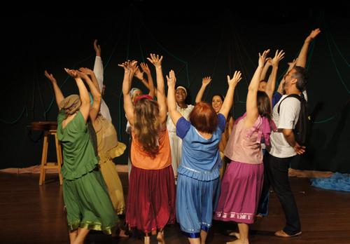 O Grupo Teatro Griô - Foto - divulgação