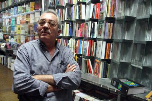 Entrevista com o escritor cearense Nilto Maciel Foto: Marcos Campos, em 31/01/2009